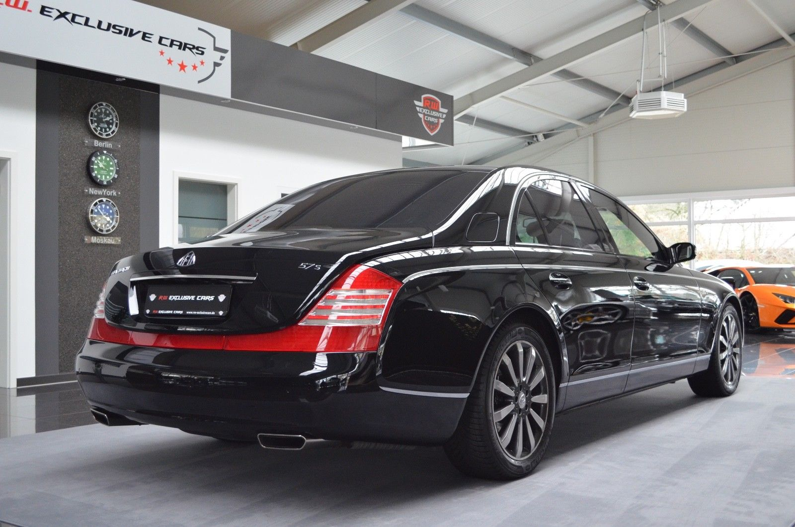 maybach 57 s baltic black luxury pulse cars germany