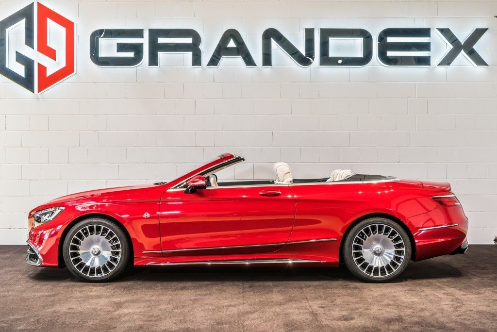 mercedes-maybach s650 cabrio 1 of 300 - luxury pulse cars - germany